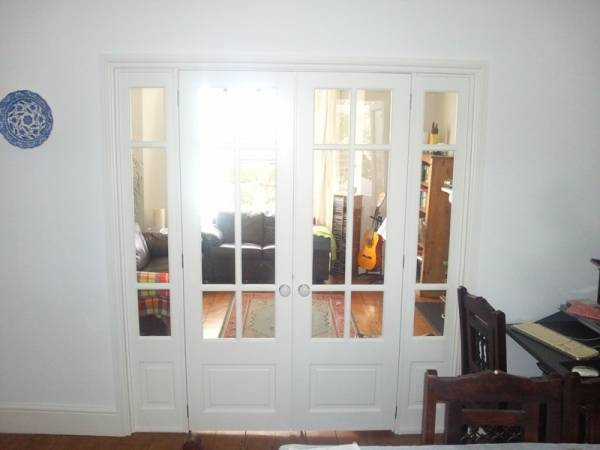 Internal French Doors - AR Builders