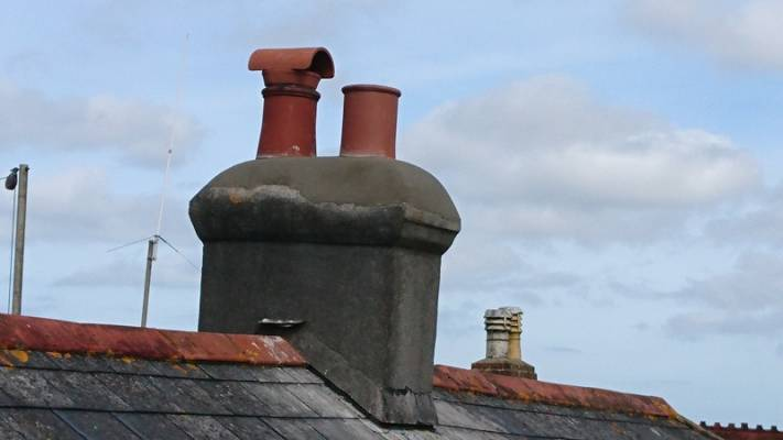 AR Builders Replace Chimney Pots Camborne