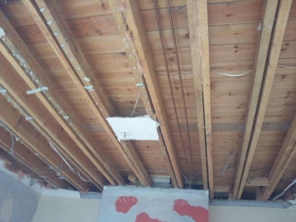 New Ceiling Floating Shelves AR Builders