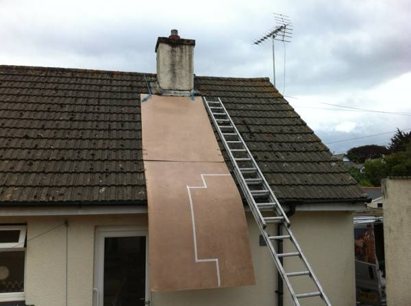 AR Builders Remove Chimney ReplaceDamaged Tiles